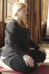 Pregnancy Yoga classes in Wickham Fareham with Lou